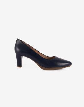 Zapato salón piel mujer